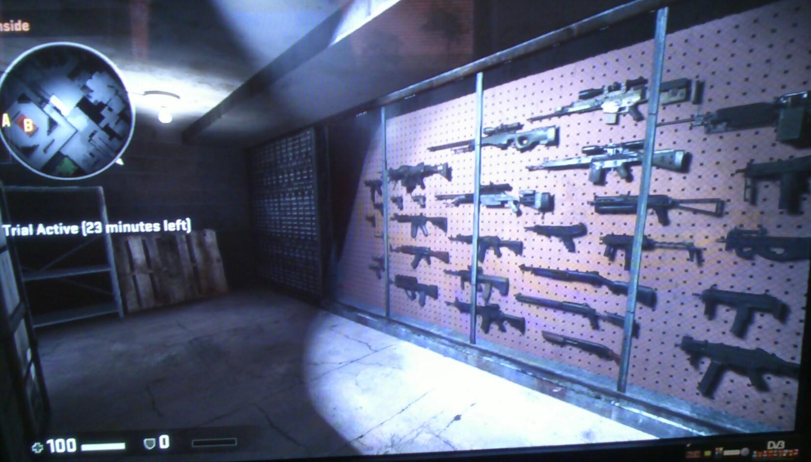 Vyber Zbraní - Training - CS GO