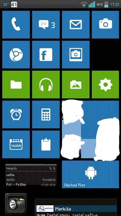 Ako spraviť z Android smartfónu Windows Phone