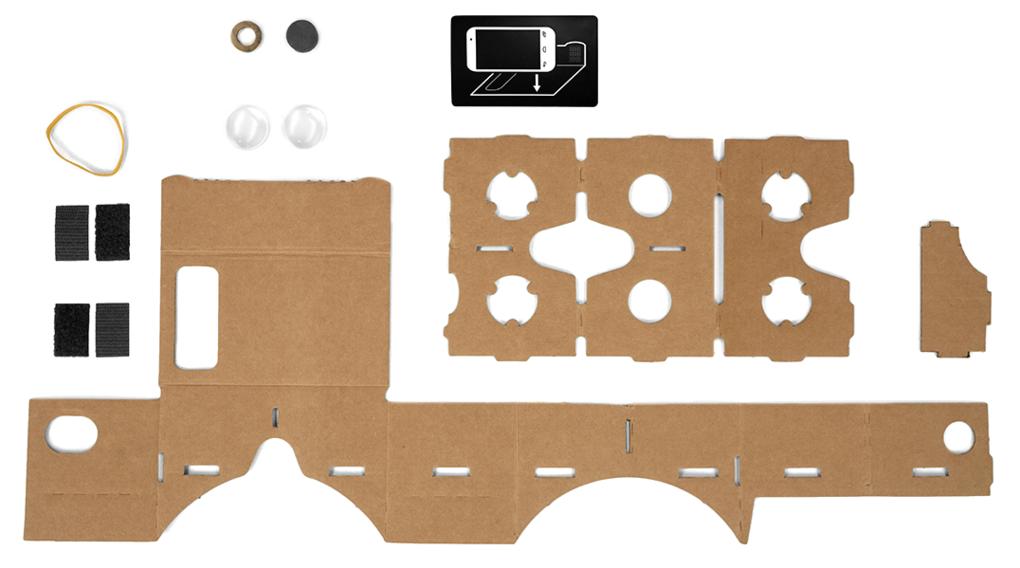 Cardboard je lacná virtuálna realita