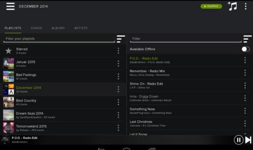 SpotifyTablet
