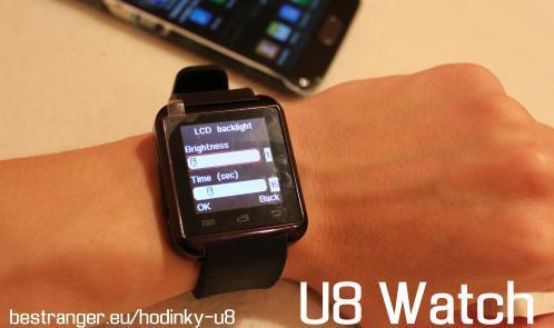U8 Hodinky - Displej