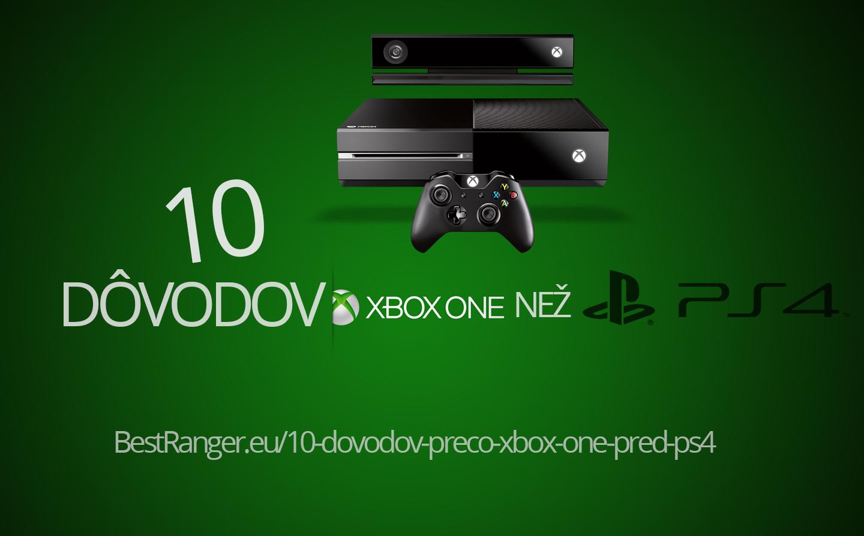 6b844e160 12 dôvodov prečo som si zvolil Xbox One pred PS4