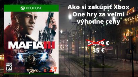 Ako si zakúpiť lacne hry na Xbox One