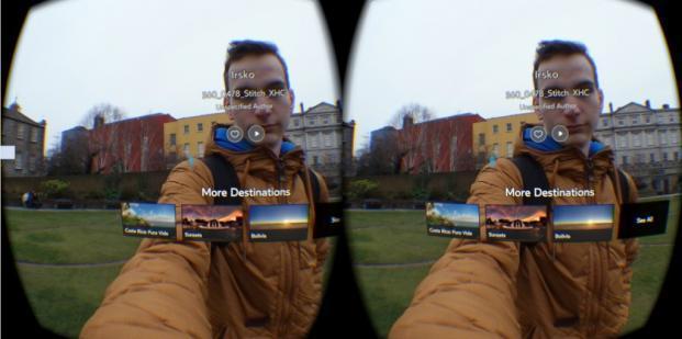 Pohľad na fotografiu vo virtuálnej realite