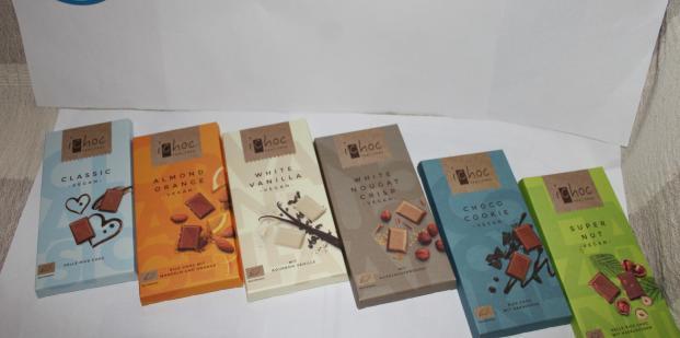 Rôzne druhy čokolád iChoc